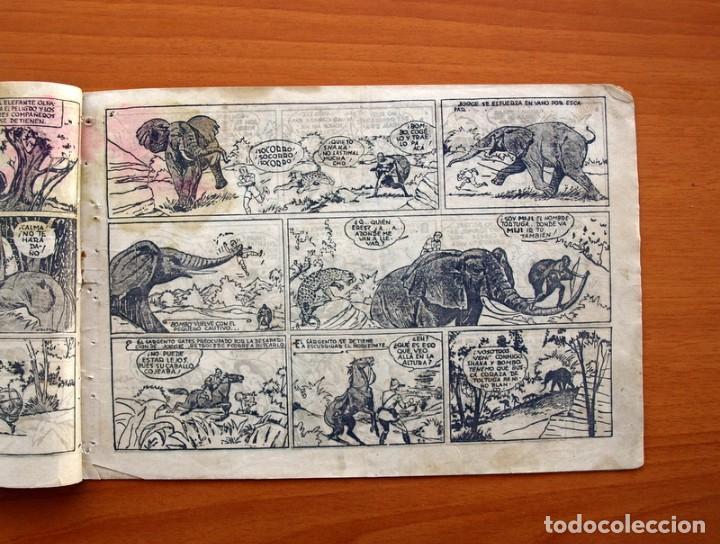 Tebeos: Jorge y Fernando nº 18, Miji el hombre tortuga - Editorial Hispano Americana 1940 - Tamaño 17x24 - Foto 3 - 98224199