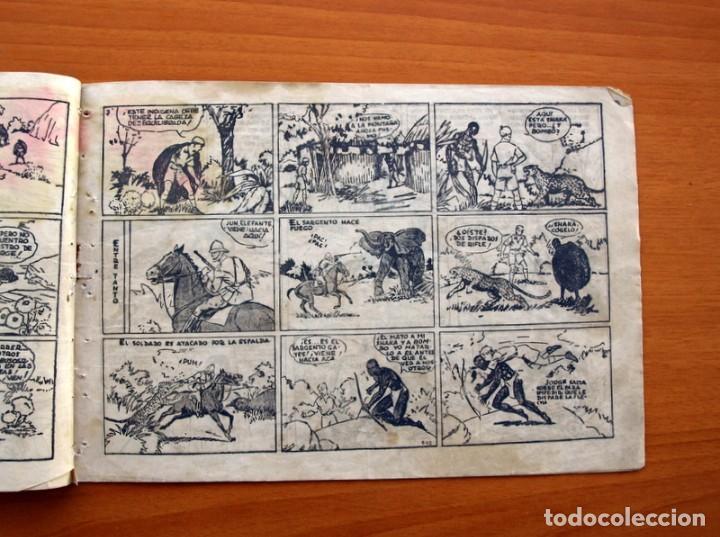 Tebeos: Jorge y Fernando nº 18, Miji el hombre tortuga - Editorial Hispano Americana 1940 - Tamaño 17x24 - Foto 4 - 98224199