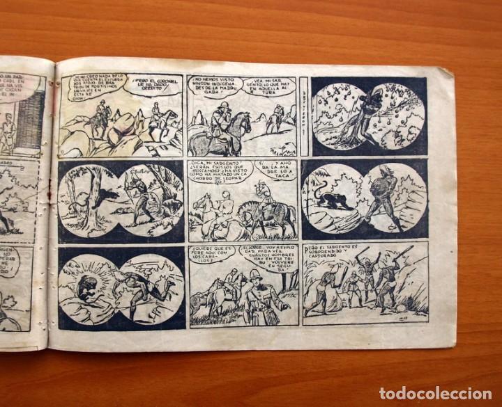 Tebeos: Jorge y Fernando nº 18, Miji el hombre tortuga - Editorial Hispano Americana 1940 - Tamaño 17x24 - Foto 5 - 98224199