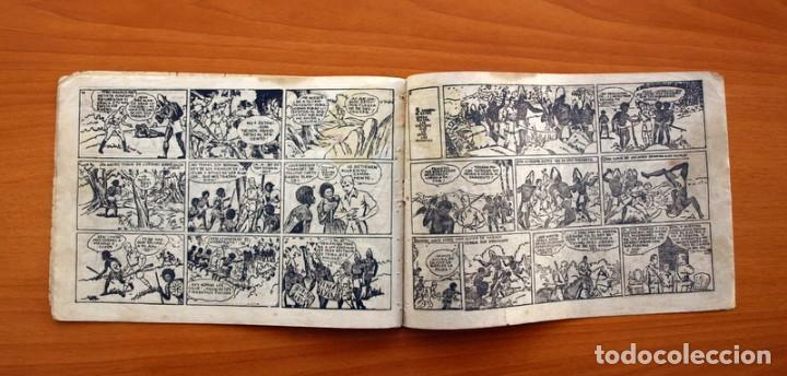 Tebeos: Jorge y Fernando nº 18, Miji el hombre tortuga - Editorial Hispano Americana 1940 - Tamaño 17x24 - Foto 6 - 98224199
