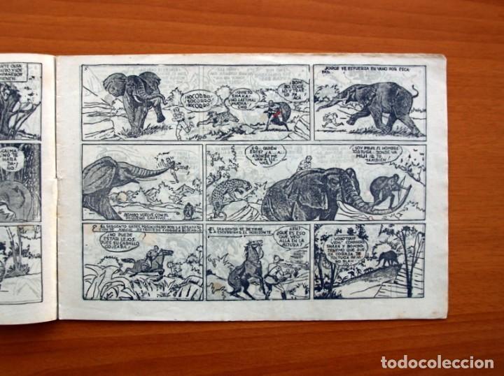 Tebeos: Jorge y Fernando nº 18, Miji el hombre tortuga - Editorial Hispano Americana 1940 - Tamaño 17x24 - Foto 3 - 98224539