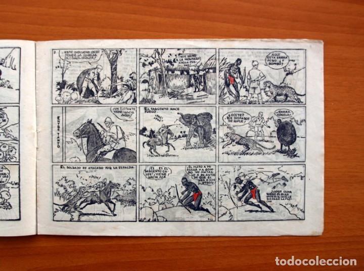Tebeos: Jorge y Fernando nº 18, Miji el hombre tortuga - Editorial Hispano Americana 1940 - Tamaño 17x24 - Foto 4 - 98224539