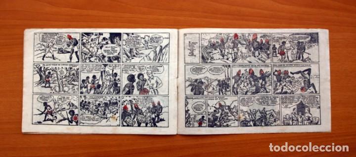 Tebeos: Jorge y Fernando nº 18, Miji el hombre tortuga - Editorial Hispano Americana 1940 - Tamaño 17x24 - Foto 6 - 98224539