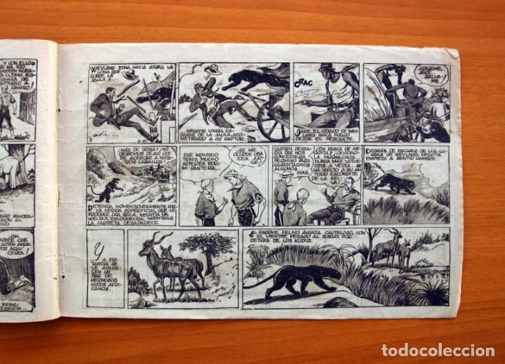Tebeos: Jorge y Fernando nº 14, Lucha entre fieras - Hispano Americana 1940 - Tamaño 17x24 - Foto 5 - 98224795