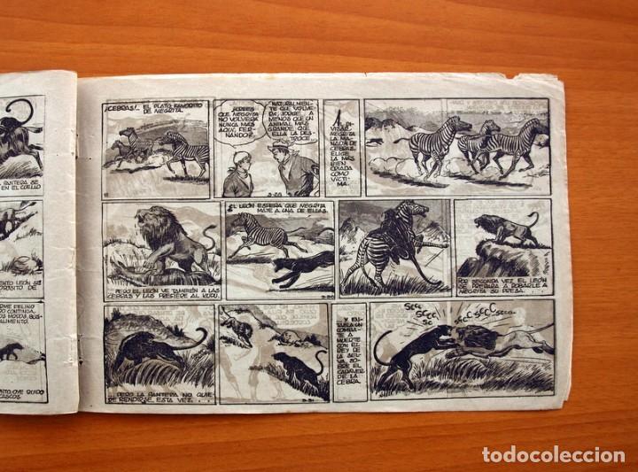 Tebeos: Jorge y Fernando nº 14, Lucha entre fieras - Hispano Americana 1940 - Tamaño 17x24 - Foto 6 - 98224795