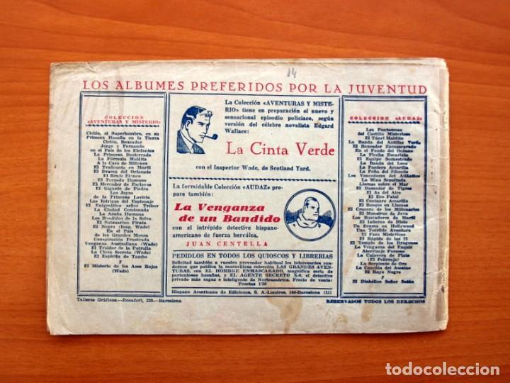 Tebeos: Jorge y Fernando nº 14, Lucha entre fieras - Hispano Americana 1940 - Tamaño 17x24 - Foto 8 - 98224795