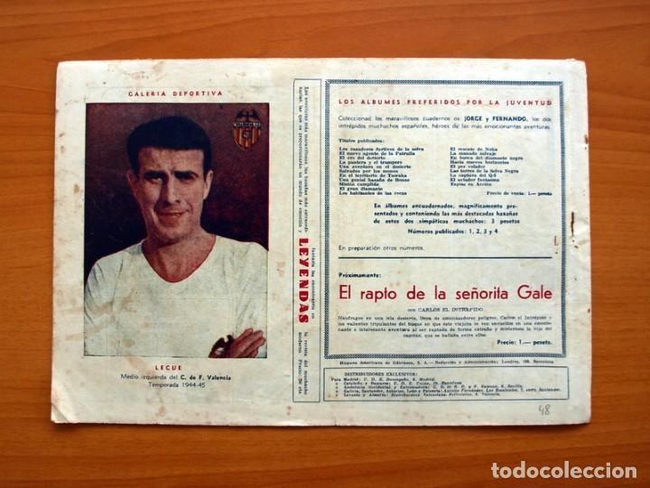 Tebeos: Jorge y Fernando nº 48, El caso de la curiosa llave - Editorial Hispano Americana 1940 -Tamaño 21x32 - Foto 6 - 98345171