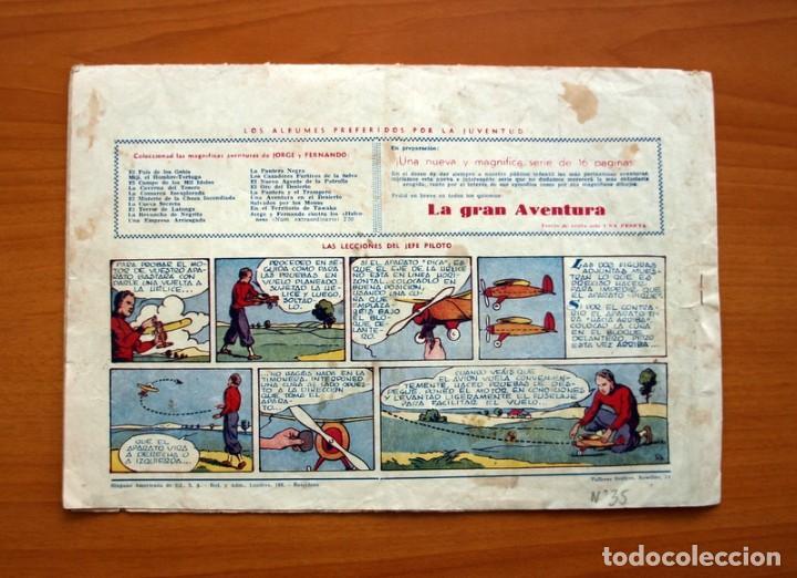 Tebeos: Jorge y Fernando, nº 35, Una genial hazaña de Bonzo - Editorial Hispano Americana 1940 -Tamaño 21x32 - Foto 6 - 98345315