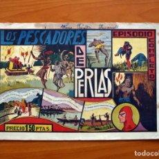 Tebeos: EL HOMBRE ENMASCARADO Nº 18 LOS PESCADORES DE PERLAS -EDITORIAL HISPANO AMERICANA 1941 -TAMAÑO 21X32. Lote 98345511