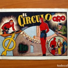 Tebeos: EL HOMBRE ENMASCARADO, Nº 23, EL CIRCULO DE ORO - EDITORIAL HISPANO AMERICANA 1941 - TAMAÑO 21X32. Lote 98345679