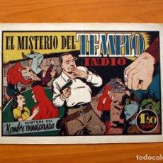 Tebeos: EL HOMBRE ENMASCARADO, Nº 42, EL MISTERIO DEL TEMPLO INDIO - EDITORIAL HISPANO AMERICANA 1941. Lote 98346119