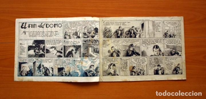 Tebeos: Merlin el mago - nº 21, El fin del Domo- Editorial Hispano Americana 1942 - Tamaño 21x32 - Foto 2 - 98348435