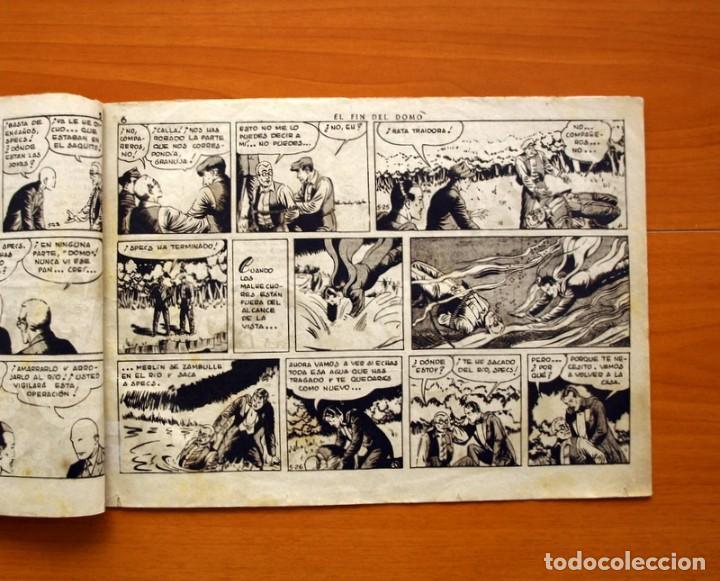 Tebeos: Merlin el mago - nº 21, El fin del Domo- Editorial Hispano Americana 1942 - Tamaño 21x32 - Foto 3 - 98348435