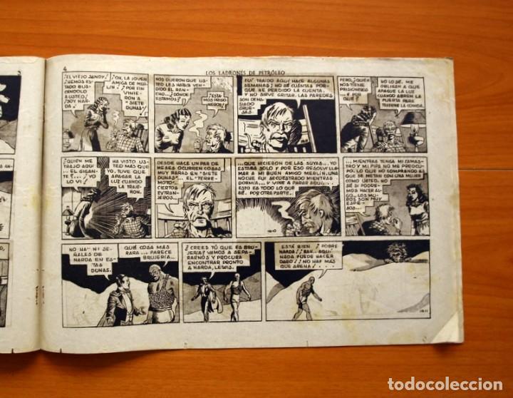 Tebeos: Merlin el mago - nº 25, Los ladrones de petroleo - Editorial Hispano Americana 1942 - Tamaño 21x32 - Foto 3 - 98348763