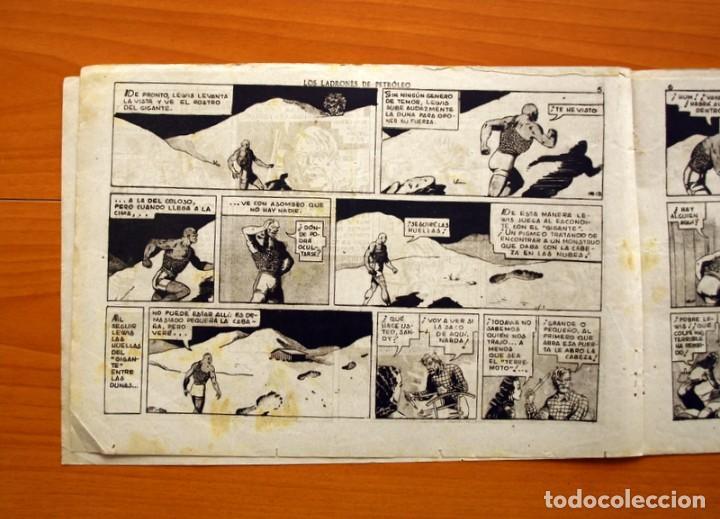Tebeos: Merlin el mago - nº 25, Los ladrones de petroleo - Editorial Hispano Americana 1942 - Tamaño 21x32 - Foto 4 - 98348763
