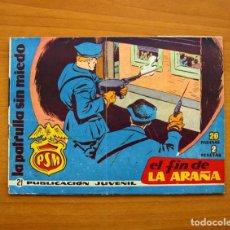 Tebeos: LA PATRULLA SIN MIEDO, Nº 21, EL FIN DE LA ARAÑA - EDITORIAL HISPANO AMERICANA 1961 - TAMAÑO 15X22. Lote 98350415