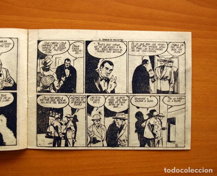 Tebeos: La patrulla sin miedo, nº 2, El terror de Manhattan - Editorial Hispano Americana 1961- Tamaño 15x22 - Foto 3 - 98351291