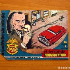 Tebeos: LA PATRULLA SIN MIEDO, Nº 2, EL TERROR DE MANHATTAN - EDITORIAL HISPANO AMERICANA 1961- TAMAÑO 15X22. Lote 98351347