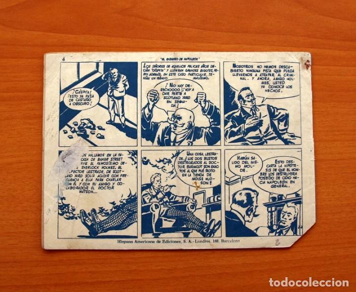 Tebeos: La patrulla sin miedo, nº 2, El terror de Manhattan - Editorial Hispano Americana 1961- Tamaño 15x22 - Foto 6 - 98351347