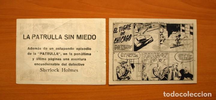 Tebeos: La patrulla sin miedo, nº 4, El tigre de Chicago - Editorial Hispano Americana 1961 - Tamaño 15x22 - Foto 2 - 98351651