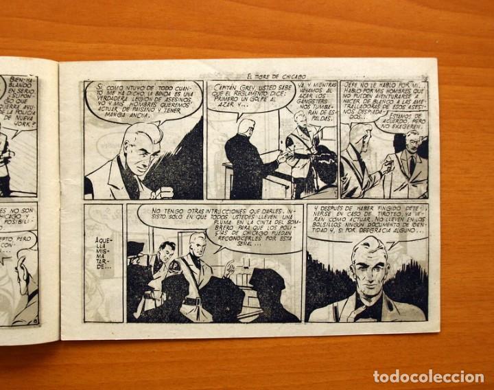 Tebeos: La patrulla sin miedo, nº 4, El tigre de Chicago - Editorial Hispano Americana 1961 - Tamaño 15x22 - Foto 3 - 98351651