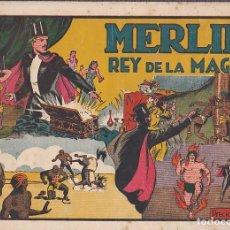 Tebeos: COMIC COLECCION MERLIN EL MAGO MERLIN EL REY DE LA MAGIA Nº 5. Lote 98423323
