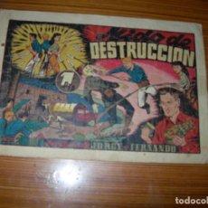 Tebeos - JORGE Y FERNANDO Nº NIDO DE DESTRUCCION EDITA HISPANO AMERICANA - 98794175
