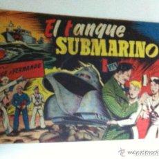 Tebeos: JORGE Y FERNANDO -EL TANQUE SUBMARINO. Lote 98949743