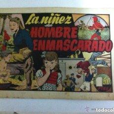 Tebeos: HOMBRE ENMASCARADO -LA NIÑEZ... Lote 98952463