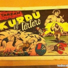 Tebeos: TARZAN - KURDO, EL TÁRTARO -LOMO REPARADO. Lote 99129723