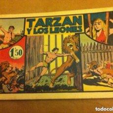 Tebeos: TARZAN - Y LOS LEONES. Lote 99130307