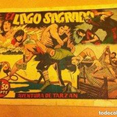 Tebeos: TARZÁN - EL LAGO SAGRADO (LOMO REPARADO). Lote 99130755