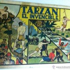 Tebeos: TARZÁN - EL INVENCIBLE. Lote 99131139