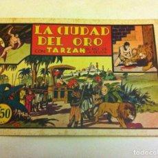 Tebeos: TARZAN -LA CIUDAD DEL ORO --. Lote 99131355