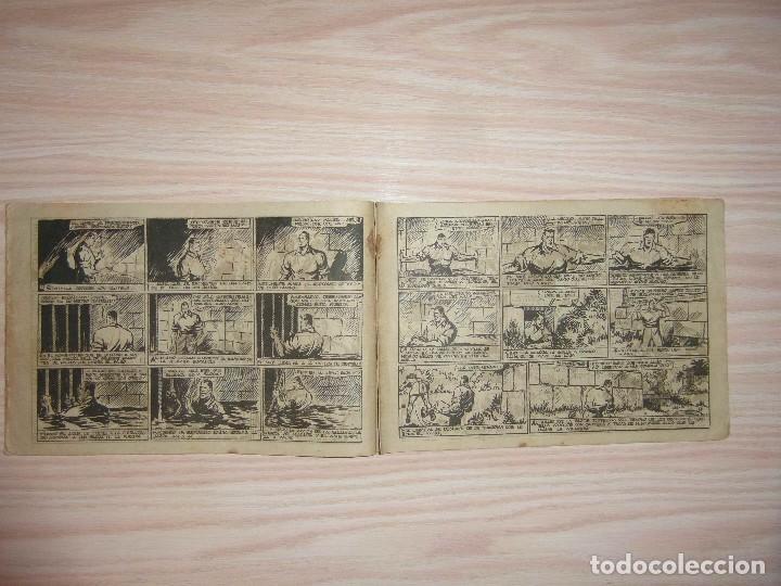 Tebeos: El templo de los dragones.Juan Centella nº 27 de Audaz.Edit. Hispano Americana.Dibuja C. Cossio - Foto 3 - 99248799