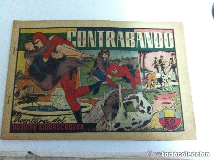 HOMBRE ENMASCARADO - CONTRABANDO (Tebeos y Comics - Hispano Americana - Hombre Enmascarado)