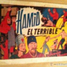 Tebeos: HOMBRE ENMASCARADO - HAMID EL TERRIBLE (LOMO UN POCO ABIERTO). Lote 99286675
