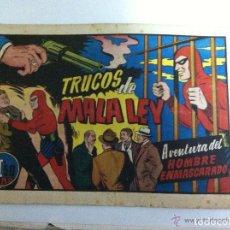 Tebeos: HOMBRE ENMASCARADO - TRUCOS DE MALA LEY. Lote 99287451