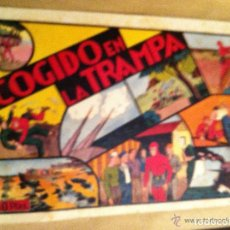 Tebeos: HOMBRE ENMASCARADO - COGIDO EN LA TRAMPA - LOMO UN POCO ABIERTO. Lote 99293719