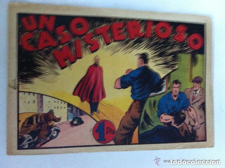 JUAN CENTELLA - UN CASO MISTERIOSO- LOMO ABIERTO (Tebeos y Comics - Hispano Americana - Juan Centella)