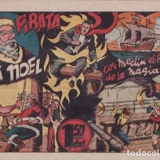 Tebeos: EL PIRATA PAPÁ NOEL, CON MERLÍN EL REY DE LA MAGIA. BARCELONA, HISPANO AMERICANA C. 1942. Lote 99428639