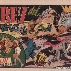 Tebeos: EL REY DEL VIENTO, CON MERLÍN EL MAGO MODERNO. BARCELONA, HISPANO AMERICANA C. 1942.. Lote 99438119