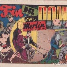 Tebeos: EL FIN DEL DOMO, CON MERLÍN EL MAGO MODERNO. BARCELONA, HISPANO AMERICANA C. 1946.. Lote 99438975