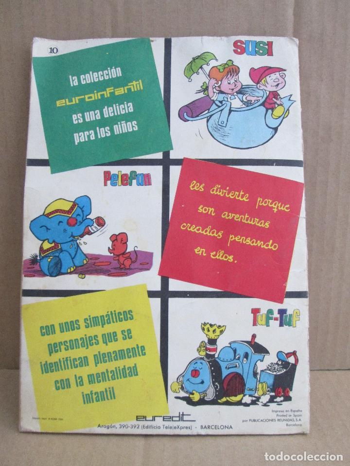 Tebeos: SUSI, Colección Euroinfantil, El cumpleaños de Susi, día de limpieza. 1968 - Foto 2 - 99449431