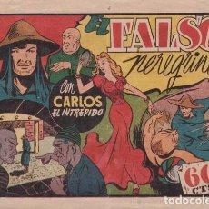 Tebeos: EL FALSO PEREGRINO. CON CARLOS EL INTRÉPIDO. HISPANO AMERICANA 1942. Lote 99684151