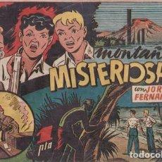 Tebeos: LA MONTAÑA MISTERIOSA. CON JORGE Y FERNANDO. HISPANO AMERICANA AÑOS 40. . Lote 99685535
