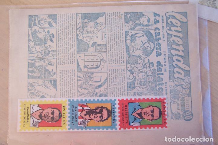 Tebeos: hispano americana lote leyendas infantiles 84 al 182 y muestras de la 1º y 3ª ep.y almanaques - Foto 14 - 64073673