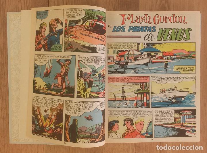 FLASH GORDON TOMO 1972 SIN MARCAS DE EDITORAL 11 NUMEROS (Tebeos y Comics - Hispano Americana - Flash Gordon)