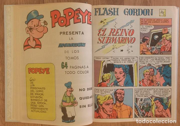 Tebeos: FLASH GORDON Tomo 1972 sin marcas de editoral 11 numeros - Foto 4 - 100302863