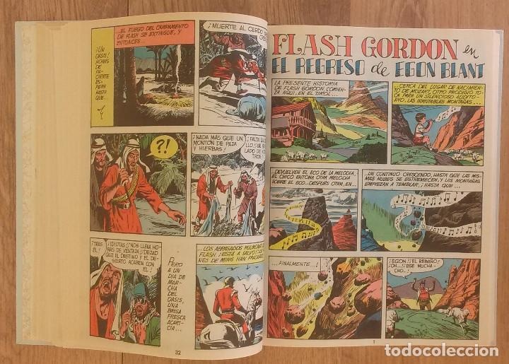 Tebeos: FLASH GORDON Tomo 1972 sin marcas de editoral 11 numeros - Foto 5 - 100302863